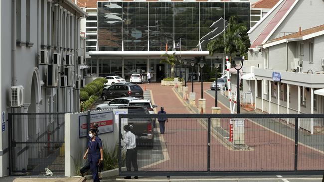 St Augustines Hospital in Durban, South Africa. Picture: AP Photo
