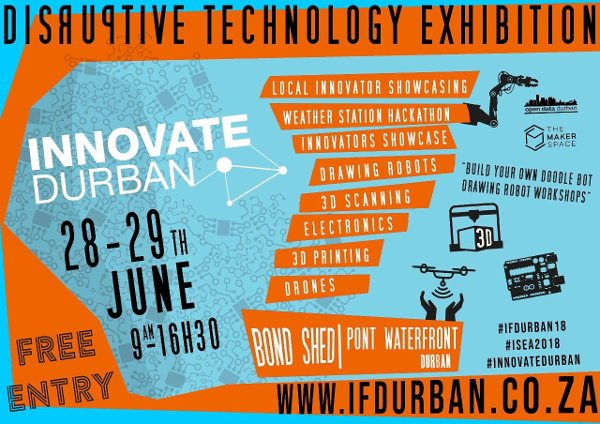 KRISP participates at the Innovation Festival, Durban, South Africa, 28-30 June 2018