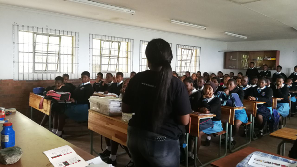 The success of this KZN Science Center initiative was evidently shown by the reactions and responses received from the learners themselves, whom freely expressed their views and questions to the team