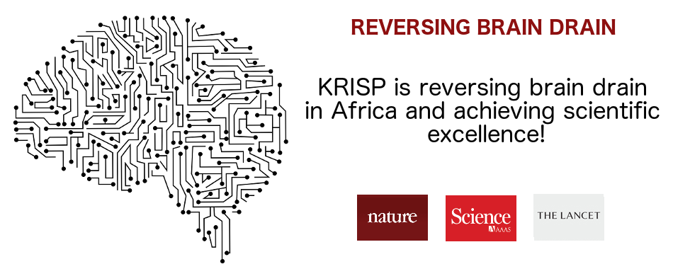 KRISP is reversing the brain drain and achieving scientific excellence, 15 Nature, Science and Lancet papers in three years, in Africa