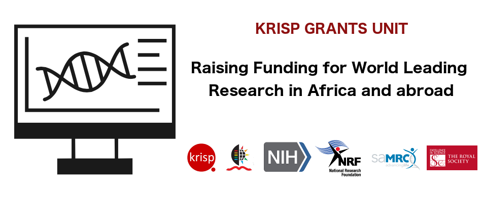 KRISP has a professional grant unit to support its researchers and collaborators to raise funding