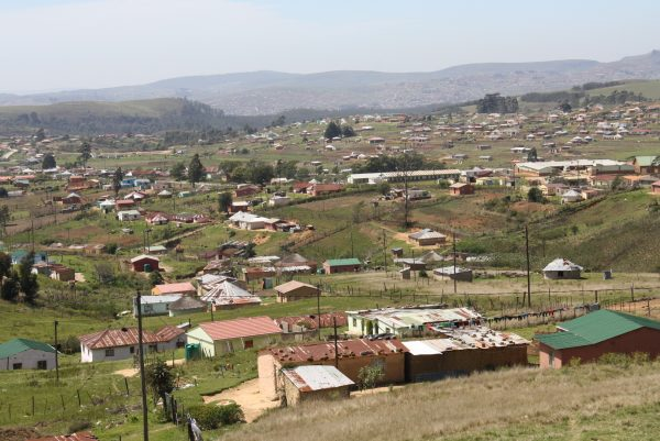 Vulindlela, in South Africa's KwaZulu-Natal province, which has some of of the highest HIV infection and prevalence rates in the world