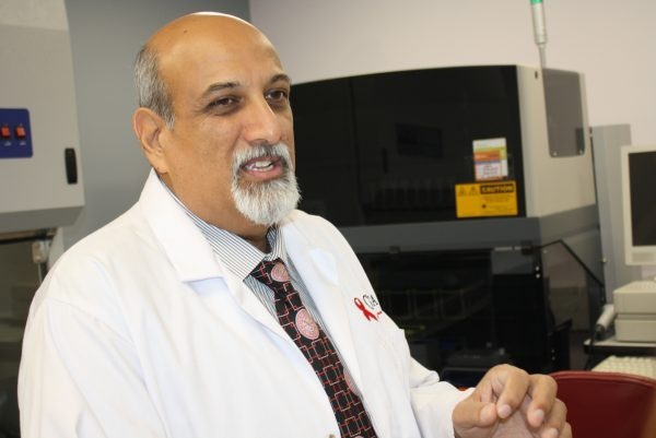 Professor Salim Abdool Karim is urging the South African government to focus HIV prevention efforts on women between the ages of 15 and 24, and on men aged 25 to 35. (Darren Taylor/Special to The Epoch Times)