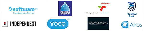 Sponsors od the Innovation Festival 2020, Durban, South Africa, 5-7 March 2020.