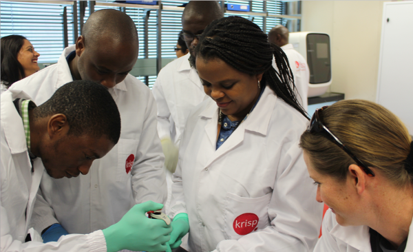 KRISP and Thermo Fisher Scientific Laboratory in South Africa