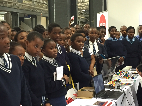 KRISP was selected to take part on an exhibition for 15,000 students in Durban as part of the 100 scarce skill career Indab